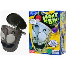 Mainan anak dan keluarga loony bin game mainan buang sampah