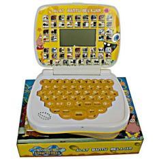 Jual Mainan Anak Edukasi Laptop Mini Aneka Bahasa Layar Mainan Anak Original
