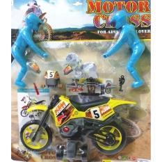 Spesifikasi Mainan Anak Kreatif Motor Cross For Adventure Murah