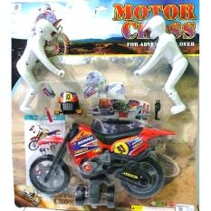 Promo Mainan Anak Kreatif Motor Cross For Adventure Akhir Tahun