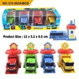 Promo Mainan Anak Mobil Tayo Garasi 1 Set 4 Pcs Indonesia