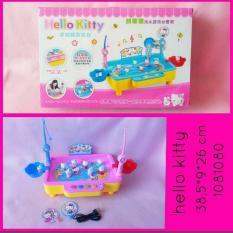 MAINAN ANAK PANCING IKAN FISHING GAME HELLO KITTY WITH USB