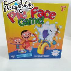 Lumi Toys Pie Face Cream Running Man Games Lucky Cake Party Trick Source · Mainan Anak