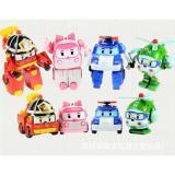 Spesifikasi Mainan Anak Robocar Poli Figure 1 Set Isi 4 Pcs Karakter Rp0408 Yg Baik