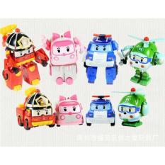 Mainan Anak Robocar Poli Figure (1 Set isi 4 Pcs Karakter) - RP0408