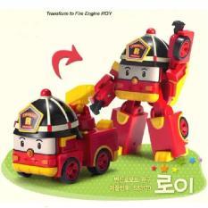 Beli Mainan Anak Robocar Poli Roy Merah Bisa Berubah Jadi Mobil Dan Robot Cicilan