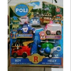 Spesifikasi Mainan Anak Robocar Poli Set Isi 4 Pcs Die Cast Robo Car Poli Ms P2 Bagus