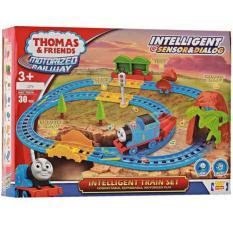 Mainan anak set kereta api thomas intelligent