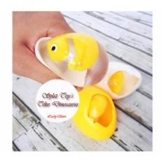 Mainan Anak Squishy Chicken Egg Splat Toy / Telur Ayam Embrio Jumbo / Telur Dinosaurus -