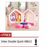Jual Mainan Anak Tenda Balon Intex Princess Play House 48635 Free Pompa Intex 68612 Import