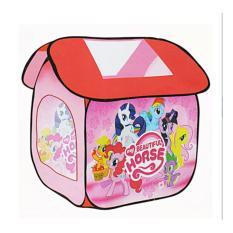 Jual Mainan Anak Tenda Rumah Little Pony Pink Dki Jakarta Murah
