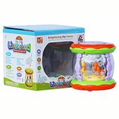 Spek Mainan Bayi Wonderland Merry Go Round Music Drum Kecil