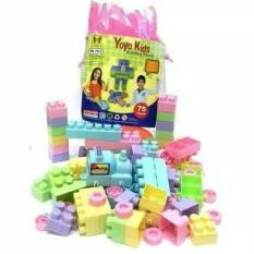 Mainan Blok Yoyo Kids - 75pc