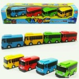 Mainan Bus Tayo Set Isi 4 Pcs Tayo Bus Diskon