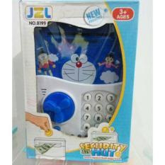 Beli Mainan Celengan Save Deposit Brangkas Doraemon Murah
