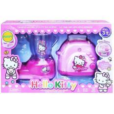 HELLO KITTY BLENDER TOASTER PINK MAINAN ANAK KITCHEN SET