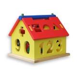 Jual Mainan Eduka Rumah Sortir Angka Edukatif Antik