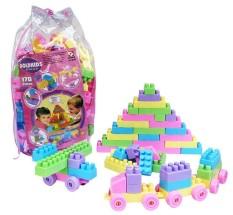 Spesifikasi Mainan Edukasi Anak Lego Balok Susun Isi 260 Pcs Goldkids Murah