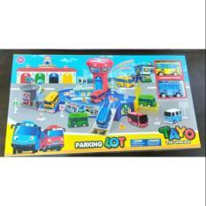 Beli Mainan Edukasi Anak My Little Bus Tayo Parking Lot Xz 604 Terbaru