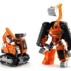 Beli Mainan Edukasi Anak Tobot Rocky Excavator Di Dki Jakarta