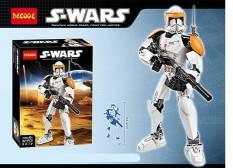 Mainan Edukasi Lego Decool S-WARS 9012 Clone Commander