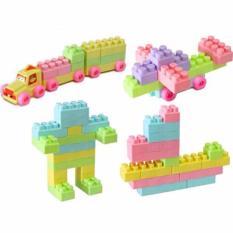 Mainan Edukasi Mainan Block Lego Yoyo 160 pcs Mainan Lego Bangun Melatih Kreatifitas Anak