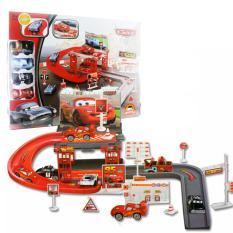 Diskon Produk Mainan Edukasi Mobil Anak Parking Garage