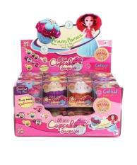 Mainan Edukatif Anak Mini Cupcake Surprise Princess Doll Glitter EMCO  Original 0796499b81