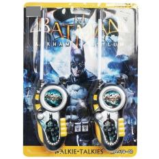 Mainan Edukatif Anak WALKIE TALKIE BATMAN SUPERMAN