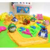Beli Mainan Edukatif Pasir Ajaib Kinetic Sand Kinetik Play Sand Model Sand Jumbo Dengan Robocar Poli Indonesia