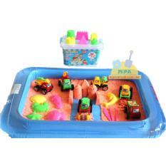 Harga Mainan Edukatif Pasir Ajaib Kinetik Sand Model Sand Play Sand 1 Kg Dengan Transportasi Construction Alas Balon Branded