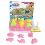 Kualitas Mainan Edukatif Pasir Ajaib Kinetik Sand Play Sand Modeling Sand Beach Mould Model Sand