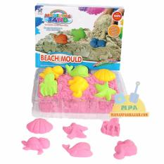 Jual Mainan Edukatif Pasir Ajaib Kinetik Sand Play Sand Modeling Sand Beach Mould Grosir