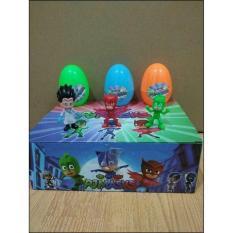 Mainan Egg Pj Masks / Telur Pj Mask Set Isi 6 Pcs - Zqxuhm