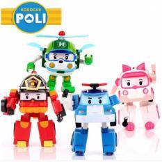 Tips Beli Mainan Figure Robocar Poli 4 Pcs Mainan Unik