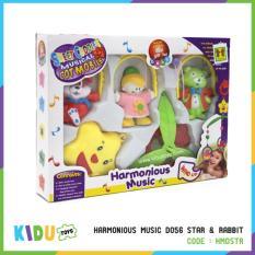 Spesifikasi Mainan Harmonious Music D056 Star Rabbit Kidu Toys