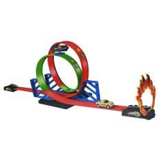 Toko Mainan Hotwheels Track Racing Halilintar 2 Jalur Online