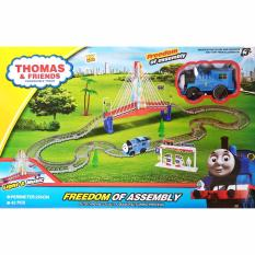 Mainan Kereta Api Set Thomas Track ChangeableTrack Freedom Of Assembly