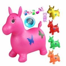 Mainan Kuda-Kudaan Karet Anak Dengan Bunyi Musik