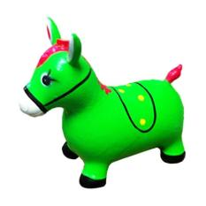 Alstindo Mainan Kuda-Kudaan Karet dengan Bunyi Musik - Bisa COD