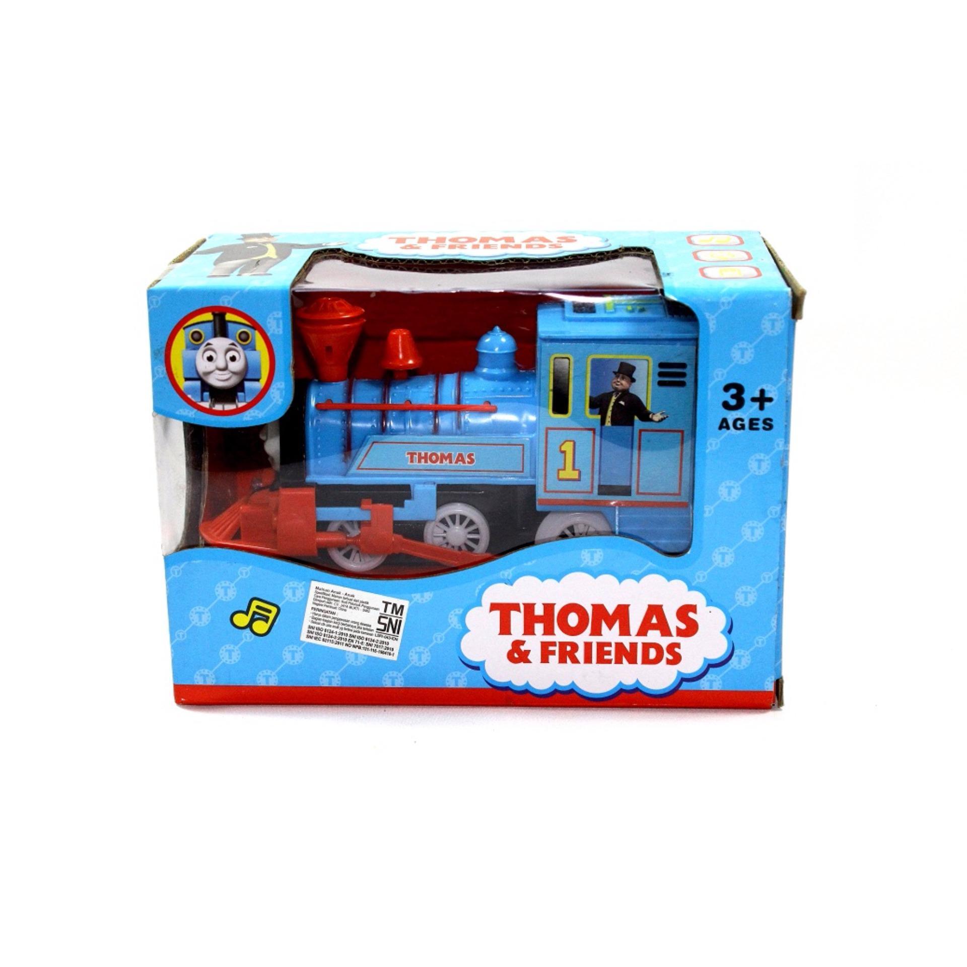 Penjualan Kereta Api Lokomotif Baterai Thomas Friends Terbaik