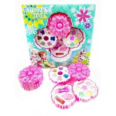 Mainan Makeup Set Anak Dandan Frozen 3 Susun Flower
