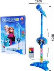 Mainan Microphone Frozen warna Biru