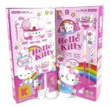 Mainan Microphone Karaoke Hello Kitty Double Mic Mp3 No 6807Hk Terbaru