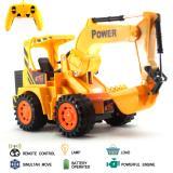 Mainan Mobil Remote Control Rc Excavator Cheetah Truck Asli