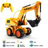 Jual Mainan Mobil Remote Control Rc Excavator Stunt Truck Import