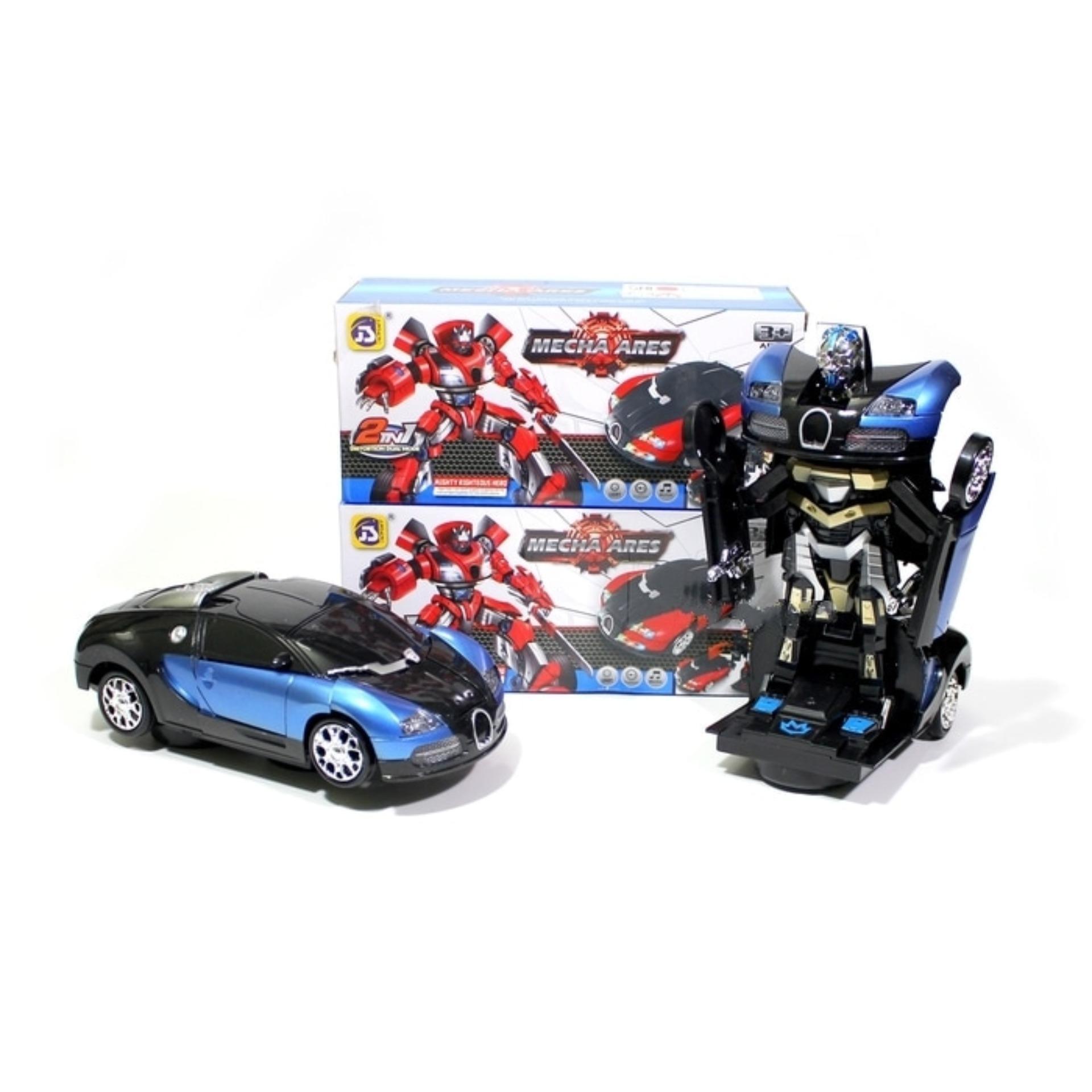 Review of Mainan Mobil Transformer Bugatti Veyron Bisa Jadi Robot anggaran terbaik - Hanya Rp90.653