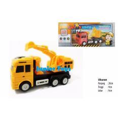 Jual Mainan Mobil Truk Beko Excavator Baterai Cartoon Digger Junior Toys Original
