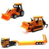 Diskon Mainan Mobil Truk Super Power Construction Branded