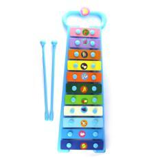 Mainan Musik Ketuk Anak Xylophone 11Tone Blue
